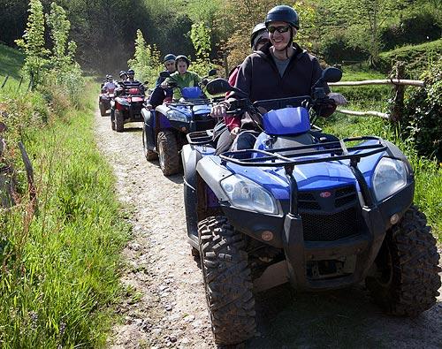 Hacer rutas en quad